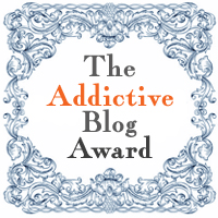 Addictive Blog Award Badge